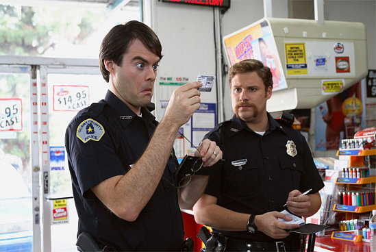 superbad. policemen in Superbad but